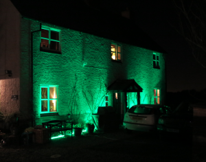 Outdoor LED Lighting hire Midlands