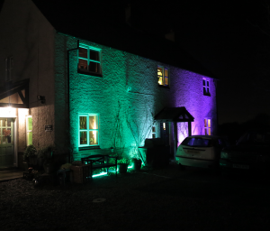 Outdoor LED Lighting hire Leicestershire