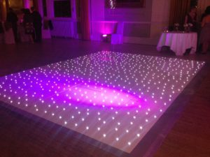 LED Starlit Dance Floor Midlands Hire