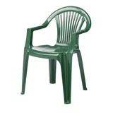 green garden chair hire